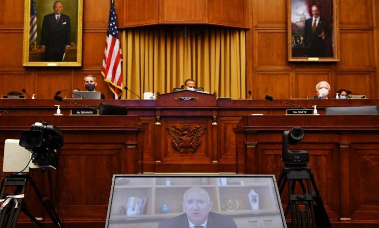 En el congreso estadounidense interpelaron a firmas tecnológicas
