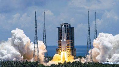 Cohete Gran Marcha-5, el mayor vehículo de lanzamiento de China
