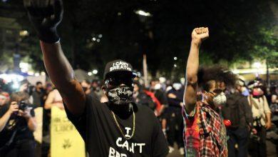 Portland es el epicentro de las protestas