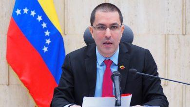 Canciller venezolano Jorge Arreaza