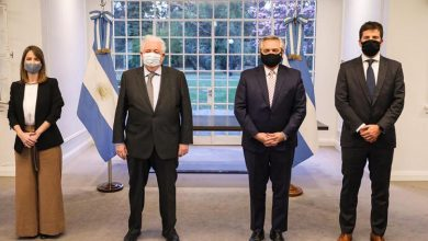 El presidente de Argentina, Alberto Fernández hizo el anuncio