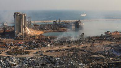 Destrucción evidenciada en el puerto de Beirut