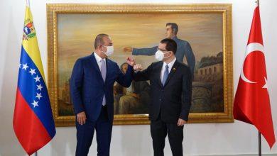 Cancilleres de Venezuela y Turquía se reunieron en Maiquetía
