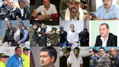 Cabecillas paramilitares colombianos extraditados