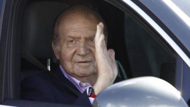El Rey de España huyó de la justicia