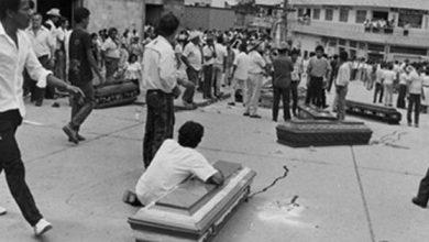 Testimonio gráfico de la masacre de El Salado