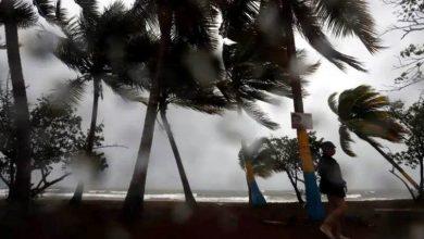 Tormenta Laura azota al Caribe