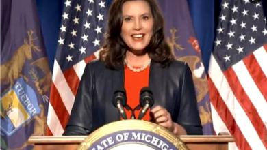 Gretchen Whitmer, gobernadora de Michigan