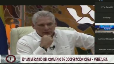 Photo of Presidente Díaz-Canel: Convenio de cooperación Cuba-Venezuela es ejemplo humanista para el mundo