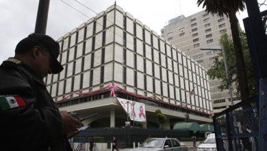 Sede de la embajada de EEUU en Ciudad de México