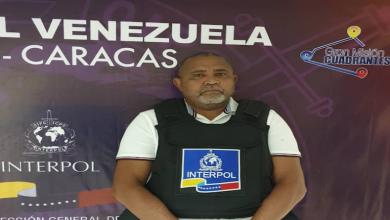 Photo of Fiscalía e Interpol lograron captura del narcotraficante Eustacio Córdova que operaba en Sucre y Anzoátegui