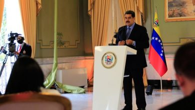 Presidente Nicolás Maduro en rueda de prensa internacional