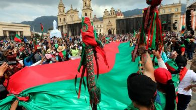 Pueblos indígenas colombianos juzgaron a Duque