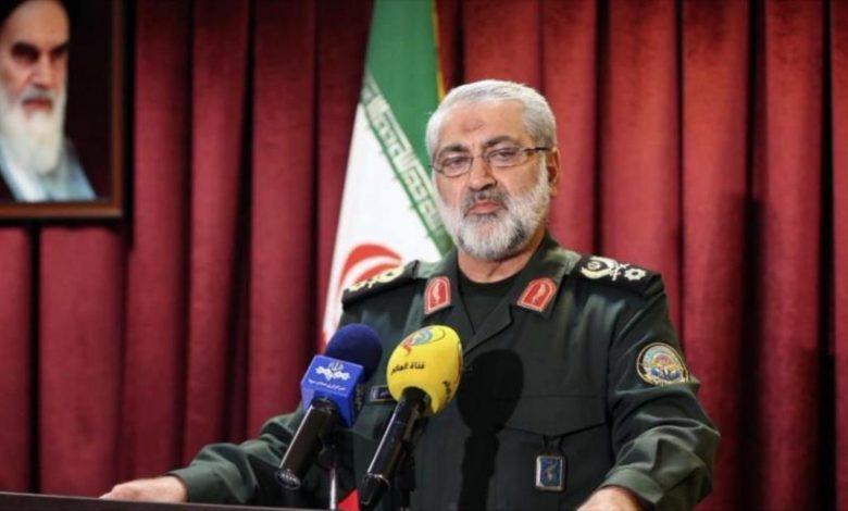 Portavoz militar iraní