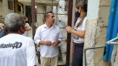 candidato al Circuito N°3 de Caracas a la AN por la Alianza Venezuela Unida, Menfri París,