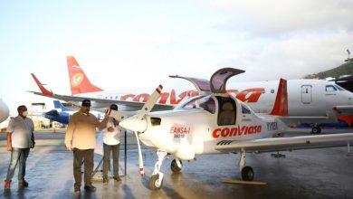 Photo of Con éxito se realizó la prueba del prototipo de aeronave venezolana SIBO-100