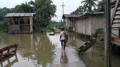Inundaciones en departamento colombiano del Chocó
