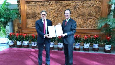 Felix Plasencia nuevo embajador de Venezuela en Beijing