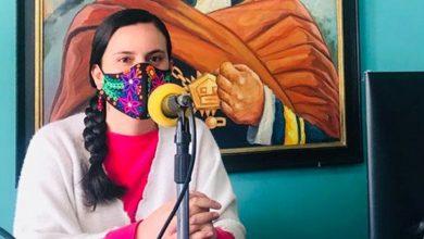 Veronika Mendoza candidata presidencial de la izquierda peruana