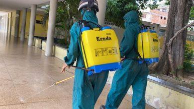 Photo of Gobierno Nacional realiza jornada de desinfección y limpieza en centros de votación del país