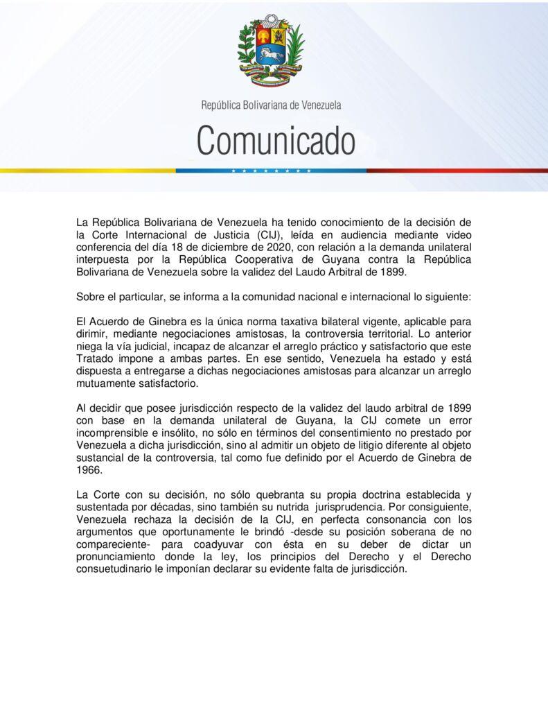 thumbnail of Venezuela-rechaza-decision-de-la-Corte-Internacional-de-Justicia-contraria-al-espiritu-del-Acuerdo-de-Ginebra-sobre-la-Guayana-Esequiba