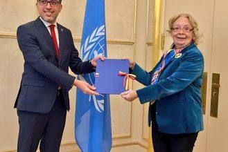Photo of Nuevo representante de Venezuela ante la ONU en Ginebra presentó cartas credenciales