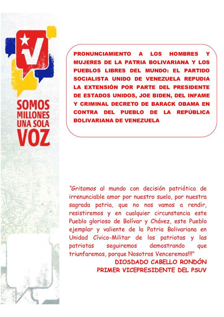 thumbnail of EL-PSUV-REPUDIA-LA-EXTENSIÓN-POR-PARTE-DEL-PRESIDENTE-DE-EEUU-JOE-BIDEN-DEL-INFAME-Y-CRIMINAL-DECRETO-DE-OBAMA.-03.03.2021